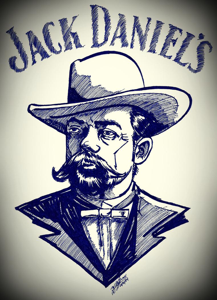 drawn 151 jack daniels fan art by willyfernando on deviantart