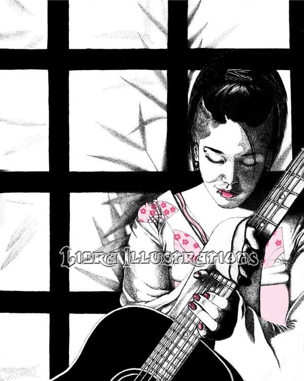 Miyavi WIP by libra-illustrations