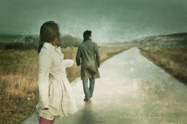عکس عاشقانه جدایی
