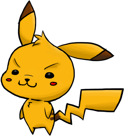 Chibi Pikachu Colored By ErRgNight