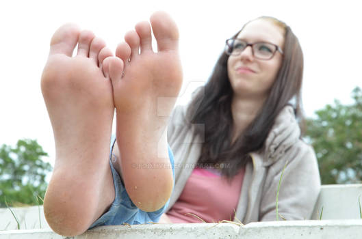 Angie's beautiful feet and soft soles 72