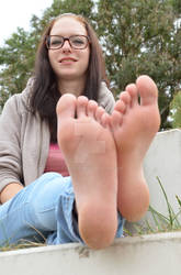 Angie's beautiful feet and soft soles 68