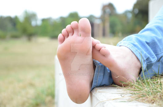 Angie's beautiful feet and soft soles 59