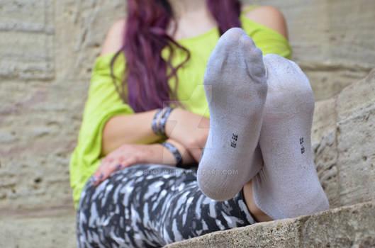 Nicole's worn socks 44