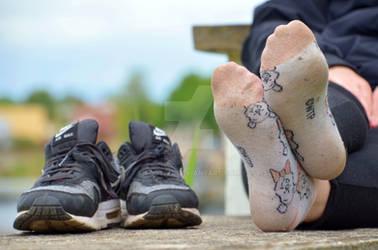 Lea's sweaty socks 46