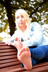Vivi's gorgeous soles of the feet 51 HD by FOOTive