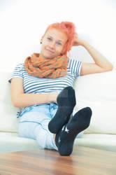 Vicky in black socks 30 HD