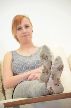 Jacky's worn socks 11 HD