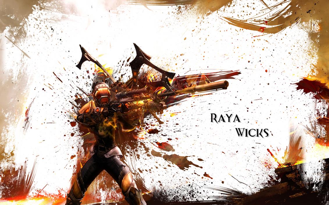 Raya Wicks Guild Wars 2 Wallpaper By Windu190