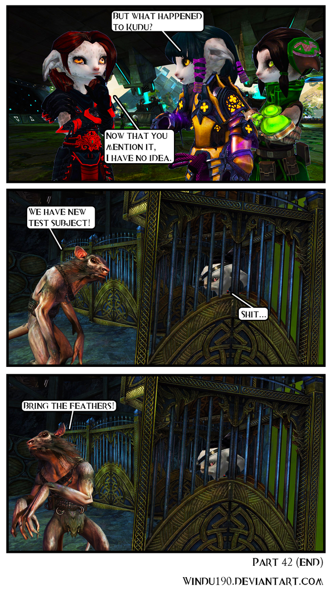 A Skritty Situation 42 (Guild Wars 2 comic) (END) by windu190