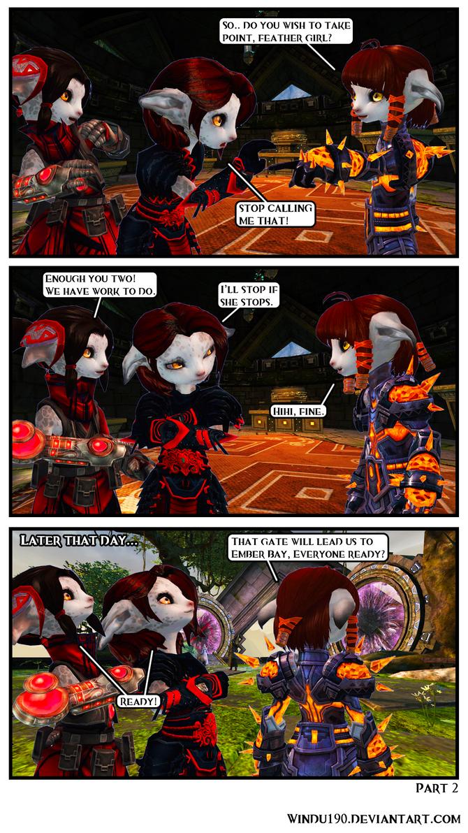 Entangled Part 2 (Guild Wars 2 comic) by windu190