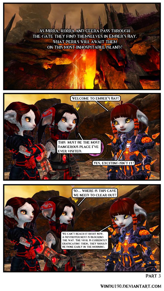 Entangled Part 3 (Guild Wars 2 comic) by windu190