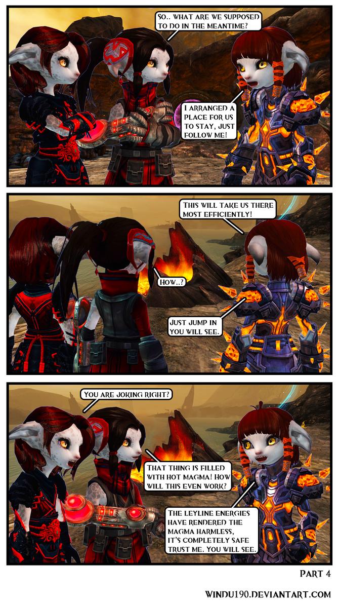 Entangled Part 4 (Guild Wars 2 Comic) by windu190