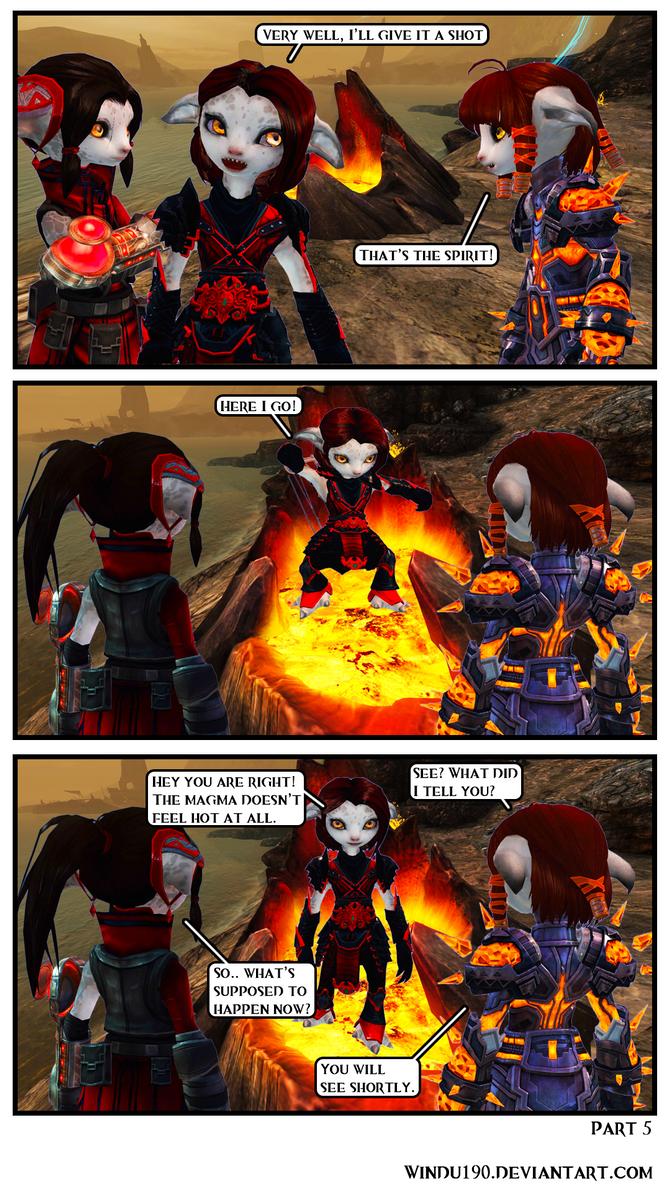 Entangled Part 5 (Guild Wars 2 comic) by windu190