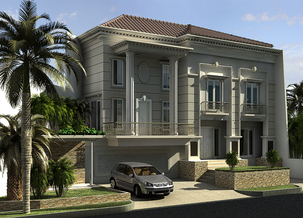 Classic house revision by ifey on deviantart for Classic contemporary homes