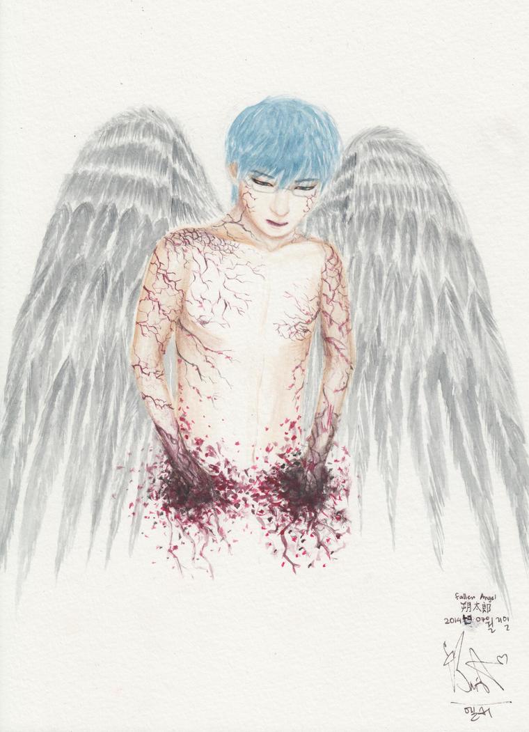 Fallen Angel!Morishige by swagsterlionel