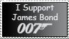 I support 007 Stamp