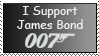 I support 007 Stamp by matsw007