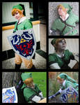 Link Cosplay Collage