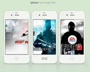 Iphone Panel Slider HTML by r0naldosla