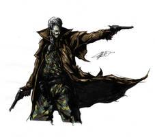 Metal Gear Solid - Ocelot by MunkyFlux