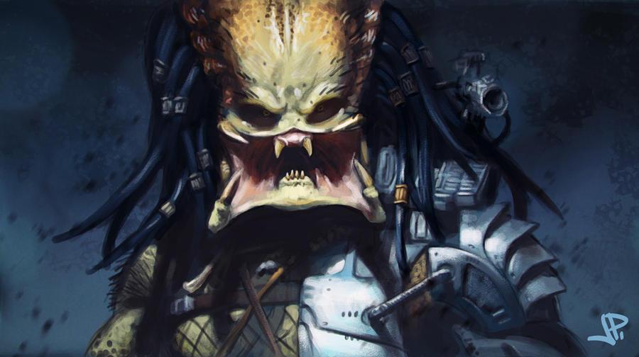 Predator Study by artbearny