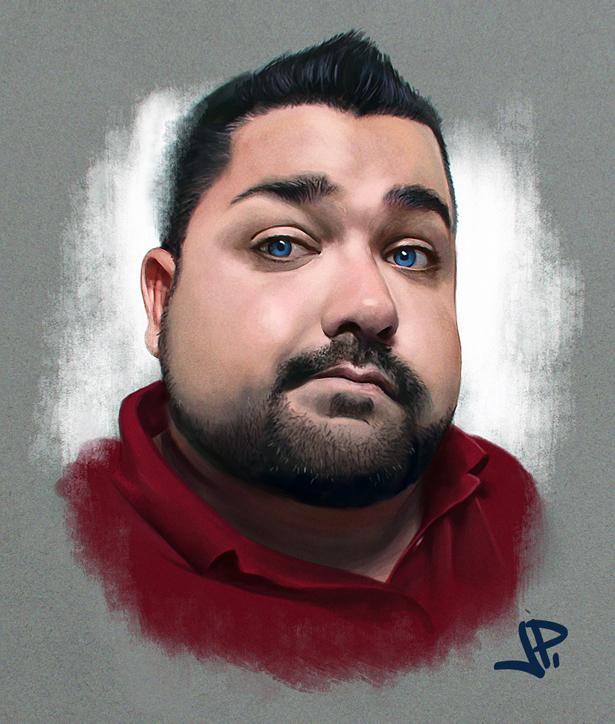 Adam by artbearny