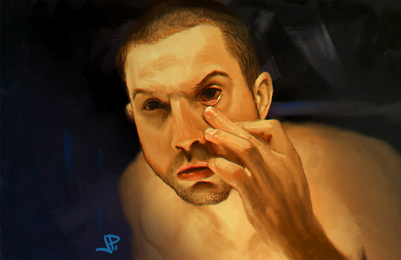 Prometheus study by artbearny