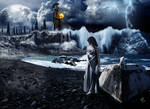 Last Moon Over Atlantis by LordScythe