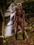 Elfic monster huntress