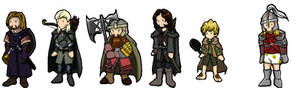 Lord of the Rings Chibis