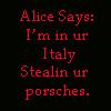 Alice Says... by LukieSock