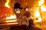 Indiana Jones with Indiana Jon