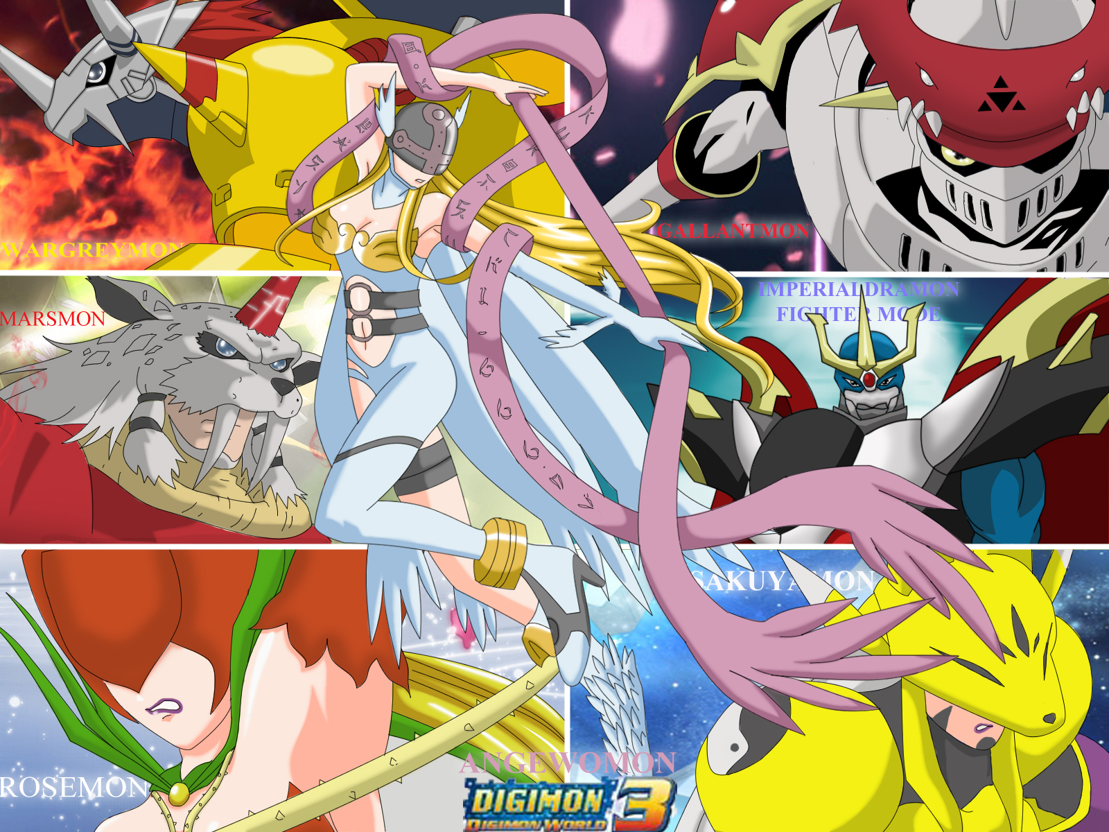 Digimon World 3 Fans by kurotsuchi-666