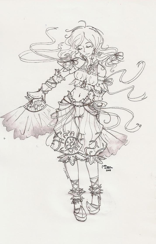 Gypsy Sketch by Euron