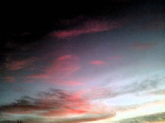 Dark Pinkish Skies by mycanda