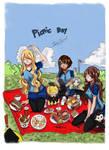 Picnic day by Inouekuran