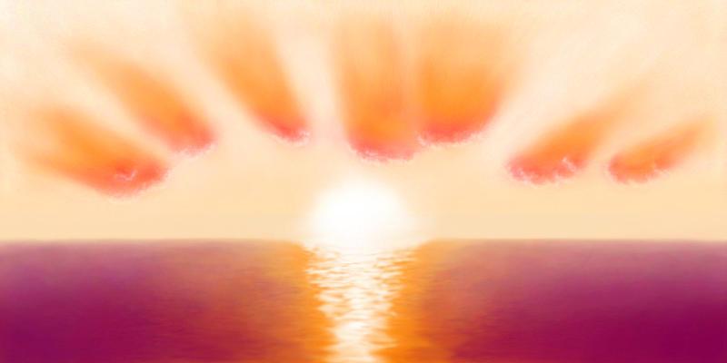 Fairy Sunset