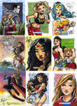 DC Legacy sketch cards