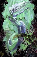 Mermaid Commission by RenaeDeLiz