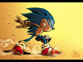 Sonic The Hedgehog Wallpaper by RenaeDeLiz