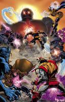 X-Men - Colored by RenaeDeLiz