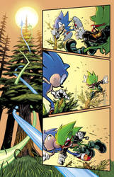 Sonic Sample Page 1 by RenaeDeLiz