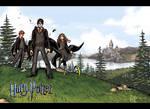 Harry Potter Comic Wallpaper