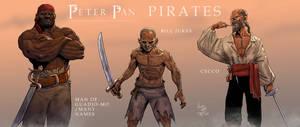 Peter Pan: Pirates Character Tag