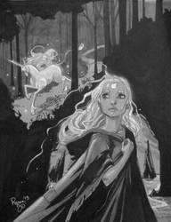 Last Unicorn Commission by RenaeDeLiz