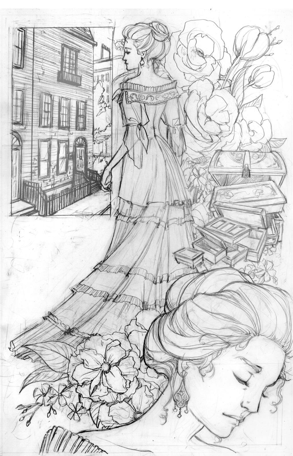 Peter Pan GN Pencils 1 by RenaeDeLiz