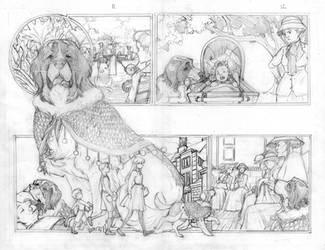 Peter Pan GN Pencils 2 by RenaeDeLiz