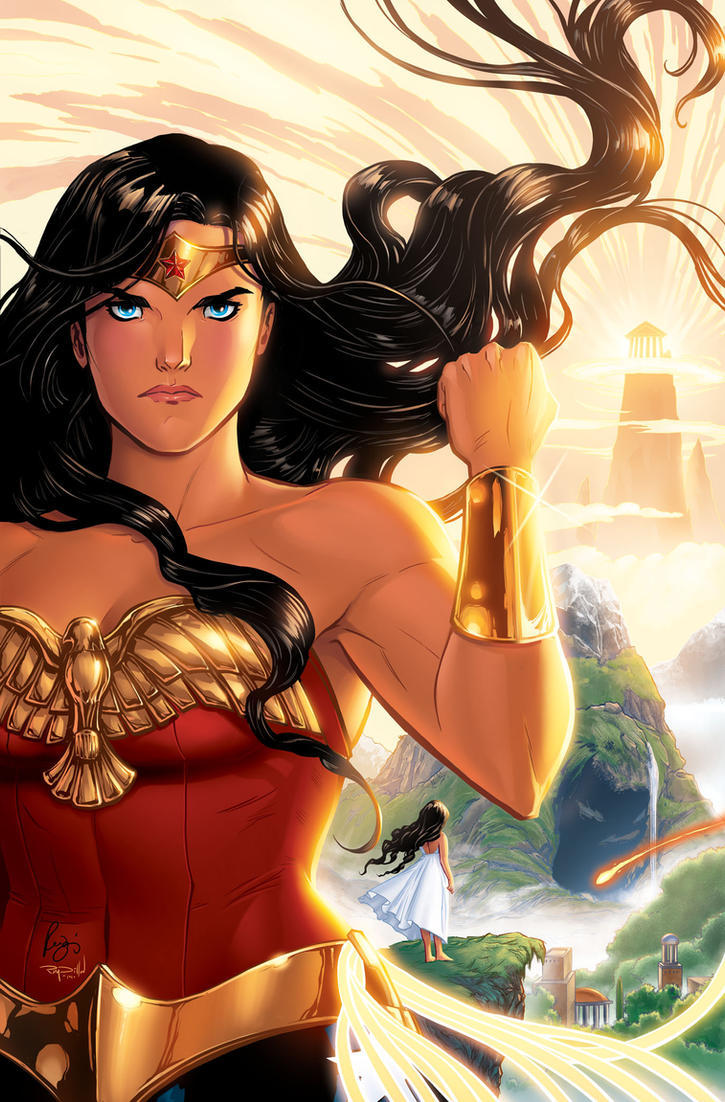 Wonder Woman - Cover by RenaeDeLiz