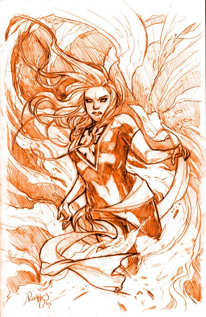 Phoenix - X-MEN by RenaeDeLiz